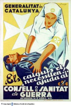 The Visual Front - Posters of the Spanish Civil War Communist Propaganda, Propaganda Art, Party Poster, Poster On, Frente Popular, Political Posters, Old Ads, Gay Art, Revolutionaries