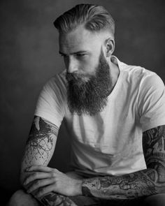 No need of words to describe it. #tattoo #tattoos #ink #beard #moustache #gent #style #urban