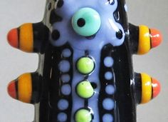 Jazz HandsHandmade Lampwork Glass Bead by beadygirlbeads on Etsy, $30.00