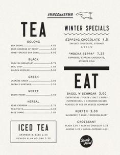 Beautiful Restaurant Cafe Menu Designs 20