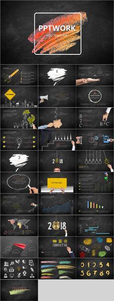 Edu PowerPoint template - Alexandra Mennes - Design Ppt Design, Keynote Design, Powerpoint Design Templates, Icon Design, Design Art, Ppt Slide Design, Booklet Design, Design Layouts, Graphic Design
