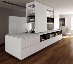 Schön Weiß Lack Küche Holz Prima Binova Italienische Möbel.