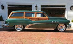 1952 Buick Super Estate Wagon. Maintenance/restoration of old/vintage vehicles: the material for new cogs/casters/gears/pads could be cast polyamide which I (Cast polyamide) can produce. My contact: tatjana.alic@windowslive.com
