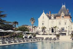 Deborah Cicurel travels to Languedoc to find a tranquil spot far from the bustle of Paris or Bordeaux, an escape from the freneticism of Cannes. St Pierre, European Travel, 5 Star Hotels, Cannes, Swimming Pools, France, Mansions, Cool Stuff, House Styles