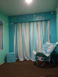 Teal Bedroom Closet