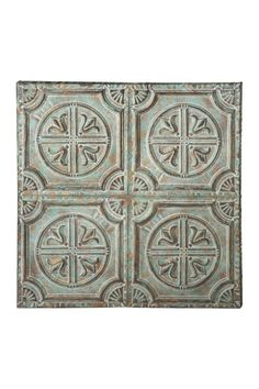 Midwest CBK LLC | Distressed Sage & Gold Medallion Wall Decor | HauteLook