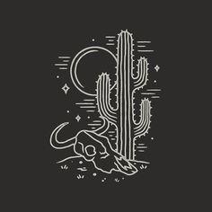 """1,001 Likes, 17 Comments - Liam Ashurst (@liamashurst) on Instagram: """"Fun little desert scene #graphicdesign #design #illustration #art #artwork #slowroastedco…"""""""