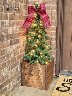 Beautiful #DIY Porch Planter by Shanty 2 Chic. Click thru for instructions.