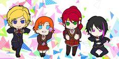 Post with 50 votes and 14658 views. Chibi team JNPR from Roosterteeth's RWBY Team Jnpr, Team Rwby, Roosterteeth Rwby, Western Anime, Red Like Roses, Rwby Memes, Rwby Comic, Dc Anime, Rwby Fanart