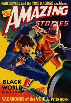 Sci Fi Amazing Stories Featuring The Black World