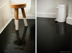 Rubber flooring in the bathroom » Emily McCall