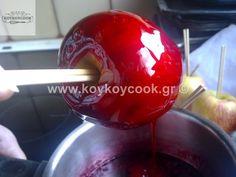 ΚΑΡΑΜΕΛΩΜΕΝΑ ΜΗΛΑ – Koykoycook Cherry, Fruit, Food, Eten, Meals, Cherries, Diet