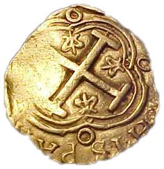 Spanish Gold Doubloon #RoguesGallery