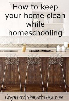 """Check out this """"secret weapon"""" for keeping a home clean while homeschooling!"""