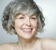 Modern Haircuts for Women over 50 with Extra Zing curly silver bob for older womencurly silver bob for older women Short Wavy Hairstyles For Women, Short Hair Cuts For Women, Short Curly Hair, Curly Hair Styles, Natural Hair Styles, Curly Bob, Hairstyle Short, Long Hair, Wedding Hairstyle