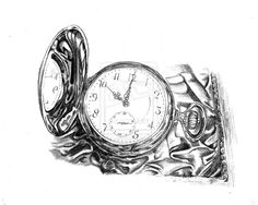 grandpas time piece by ~winstonscreator on deviantART art amaz, grandpa time, art journal, time piec, thought spirit, pencil sketch, dibujo ii, graphit pencil