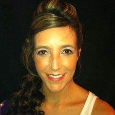 Wedding hair and make up- after
