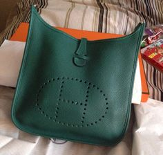 large hermes evelyne bag price