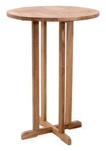 Zuo 703550 Trimaran Bar Table in Natural  Products Details: The Timaran Bar Table is made from solid unfinished Teak. The grade of Teak is BC, which limits the amount of knots found in the wood. This