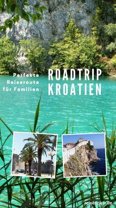 Roadtrip Kroatien. Pefekte Reiseroute für Kroatien für 2 bis 3 Wochen. Ideal für Familien mit Kindern. #kroatien #dubrovnik #reisenmitkindern