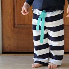 Baby pants sewing tutorial