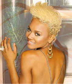 AFROGENIK: Inspiration: Tapered Afro Hair