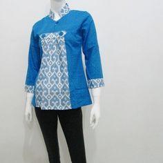 tahun 2015 kami menghadirkan kombinasi warna cerah untuk baju blus batik modern yang dijual harga sangat murah terbaru dan modis