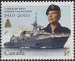 Canadian Postal Archives Database    Postal Administration: Canada     Title: HMCS Halifax     Denomination: 57¢     Date of Issue: 4 May 2010