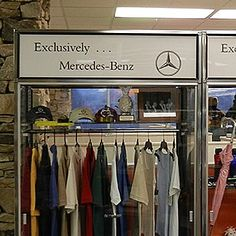 Mercedes-Benz Showroom Display Lettering