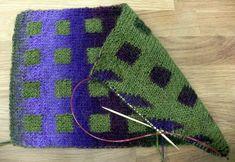 dvojité reverzní pletení, 2. díl - Double Knitting reversible