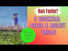 Speed and agility drills for runners. How To Run Faster, Drill, Running, Group, Board, Drill Press, Racing, Hole Punch, Drills