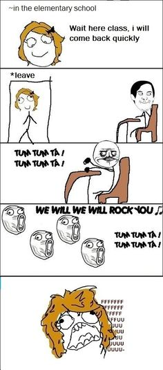 Omg! We totally did this! It was the best time of my life. Not enoying the teacher but elementary school. ^^