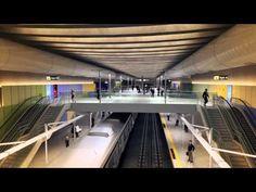 Linha 4 do metrô: Estação Nossa Senhora da Paz - Projeto 3D - YouTube