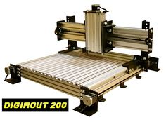 DigiRout low cost CNC Router