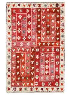 Märta Måås-Fjetterström creates some of the finest rugs and tapestries in the world, handwoven at the studio in Båstad, Sweden by artisan weavers since Textile Texture, Textile Fiber Art, Textiles, Textile Patterns, Rya Rug, White Rug, Rug Hooking, Rugs On Carpet, Decoration