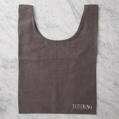 Linen tote bag from Considered by Helen James