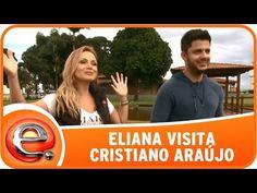 Programa Eliana (03/05/15) - Eliana visita Cristiano Araújo - YouTube