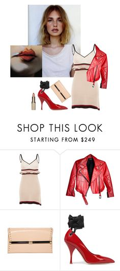 """And when the night comes....."" by sue-mes ❤ liked on Polyvore featuring Anja, Francesco Scognamiglio, Diane Von Furstenberg, Miu Miu and L'Oréal Paris"