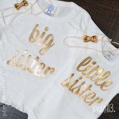 T- shirt printed with gold foil-would look great with leopard puckers.