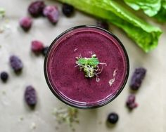 Sprouted Berry Smoothie Recipe