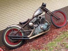 Harley | Bobber Inspiration - Bobbers and Custom Motorcycles | doug1935 July 2014