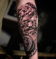 "FABIANO ⌘ NOGAROLLI on Instagram: "". 📆 E-mail for B O O K I N G S bookings@nogarolli.com . Sponsored by: @inkedsoulcartridges @InkedSoulSupply . . 🖌Realism black and…"" Hercules Tattoo, Sleeve Tattoos, Portrait, Instagram, Black, Ideas, Tattoo Sleeves, Headshot Photography, Black People"