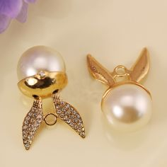 Find More Charms Information about 10pcs Wings Pearl floating Enamel Charms Alloy Pendant fit for necklaces bracelets DIY Female Fashion Jewelry Accessories,High Quality pendant resin,China charm pendants Suppliers, Cheap pendant jewlery from Playful beauty department store on Aliexpress.com
