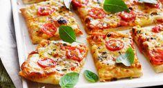 Pizza au fromage, Voir la recette >>