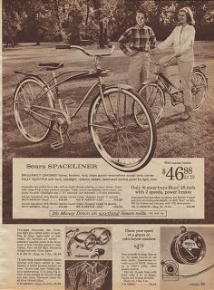 Hollyhill Book of the Strange. Jocie's wishing for a new bike, but it's 1964 and 50 bucks is a lot of money! Vintage Bicycle Parts, Old Bicycle, Bicycle Wheel, Old Bikes, Vintage Bicycles, Bicycle News, Vintage Advertisements, Vintage Ads, Bicycle Brands