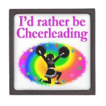 CUTE AND COLORFUL CHEERLEADING DESIGN PREMIUM KEEPSAKE BOX http://www.zazzle.com/mysportsstar/gifts?cg=196898030795976236&rf=238246180177746410   #Cheerleading #Cheerleader #Cheerleadinggifts #Cheerleadergift #loveCheerleading #BowtoToe