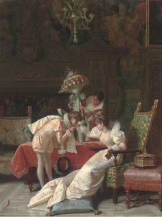 Итальянский художник Pio Ricci (1850-1919) (33 картинок)