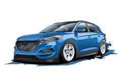 Hyundai cranks the Tucson to 700 hp for SEMA Tuner Cars, Automotive News, Car Tuning, Car Wash, Offroad, Luxury Cars, Dream Cars, Automobile, Tucson Hyundai