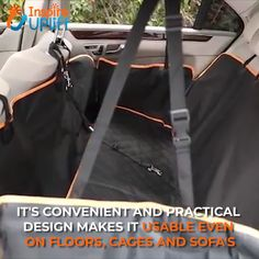 FIAT 500C ALL YEARS GREEN CAR PET HAMMOCK SEAT COVER