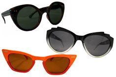 Futuristic Cat Eye Sunglasses- Summer 2011 Sunglasses Trends